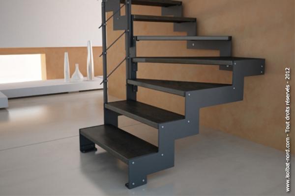 Escalier à Crémaillère
