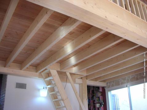 Mezzanine en bois acordesign - Construire mezzanine bois ...